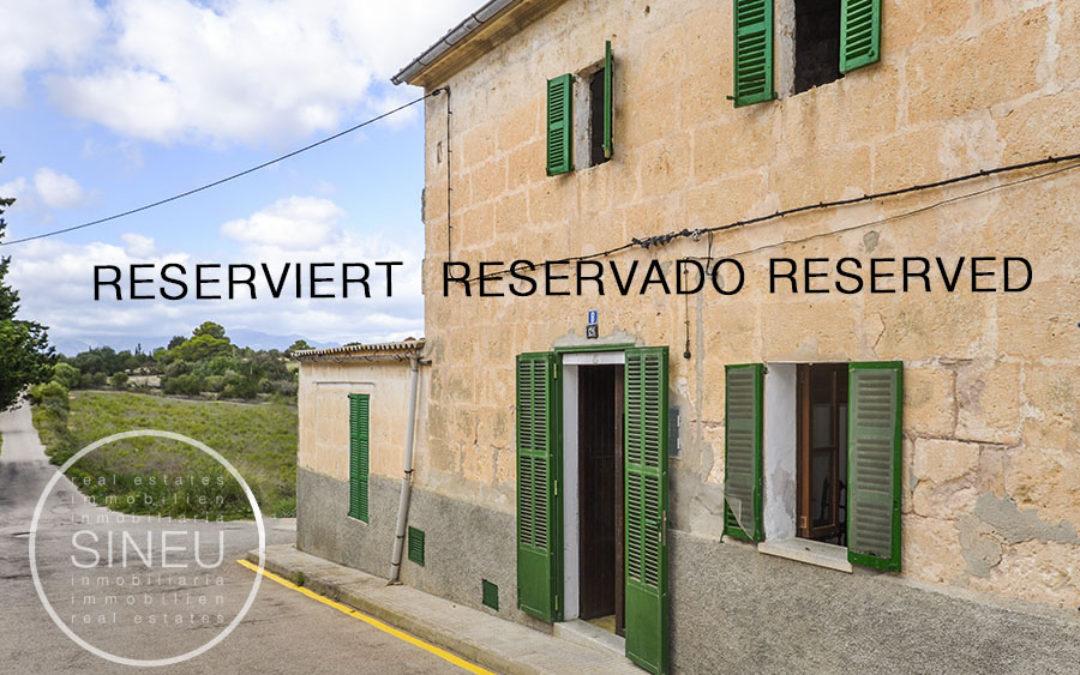 Maria de la Salut – Renovierungsbedürftiges Dorfhaus inklusive zusätzlichem Bau-Grundstück